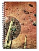 Flying Saucers Spiral Notebook