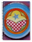 Flying Star Spiral Notebook