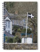 Flying The Flag For Cornwall Spiral Notebook