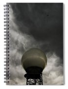 Flying The Friendly Skies Spiral Notebook