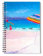 Flying The Kite Spiral Notebook