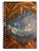 Flying Through Fire Spiral Notebook