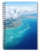 Flying To Paradise Spiral Notebook