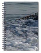 Foam On The Rocks Spiral Notebook