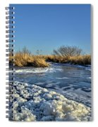 Foam On The Water Spiral Notebook