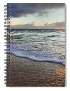 Foam Sunset Spiral Notebook