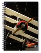 Focker Tri-plane Spiral Notebook
