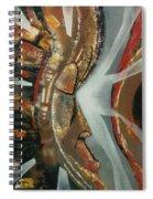 Focus And Determination Spiral Notebook