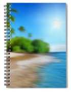 Focus On Palm Tree Spiral Notebook