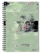 Fog And Flowers Spiral Notebook