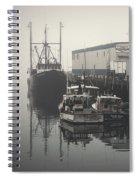 Fog Before Sunrise #3 Spiral Notebook