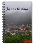 Fog Spiral Notebook