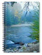 Fog In The Wenatchee Forest Spiral Notebook