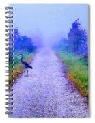 Fog Lights Spiral Notebook