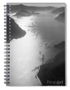 Fog Over The Iseo Spiral Notebook