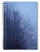 Fog Spiral Notebook