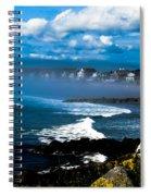 Fog Rolling In   Spiral Notebook