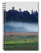 Fog Rolls In Spiral Notebook