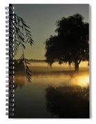 Fog Water And Sun Spiral Notebook
