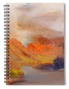 Foggy Autumnal Dream Spiral Notebook