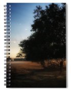 Foggy Country Morning  Spiral Notebook