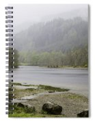 Foggy Day At Loch Lubnaig Spiral Notebook
