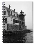 Foggy Day Sail Spiral Notebook