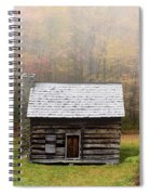 Foggy Fall Color Spiral Notebook