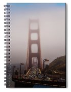 Foggy Golden Gate Spiral Notebook