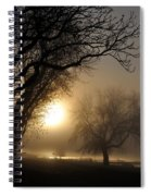 Foggy Morn Spiral Notebook