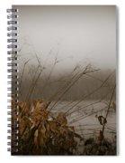 Foggy Morning Marsh Spiral Notebook