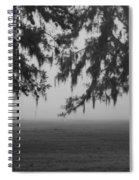 Foggy Morning Study Vii Spiral Notebook