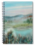 Foggy Morning Spiral Notebook