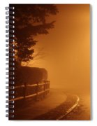 Foggy Night In White Plains Ny 2006 04 Spiral Notebook