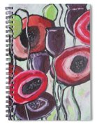 Foggy Poppy Spiral Notebook
