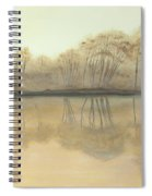 Foggy Reflections Spiral Notebook