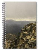 Foggy Rim Spiral Notebook