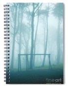 Foggy Swing Spiral Notebook