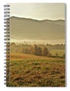 Foggy Valley Spiral Notebook