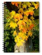 Foliage Fall Spiral Notebook