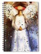 Folk Art Angel Spiral Notebook
