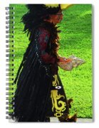 Folk Costume In Mexico 2 Spiral Notebook