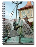 Follow Me Around The May Pole Spiral Notebook