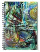 Follow Me Down To The Valley Below Spiral Notebook