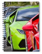Follow That Lamborghini Spiral Notebook
