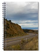 Follow The Winding Road Spiral Notebook