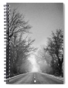 Follow Your Dreams    Monochrome Spiral Notebook