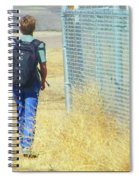 Following The Fence Home Spiral Notebook