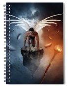 Following The  Lights Spiral Notebook