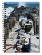 Folly Sea Wall Spiral Notebook